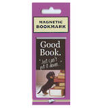 Magnetic Bookmark Good Book Dog