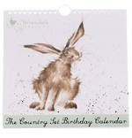 Birthday Calendar Wrendale Country Set