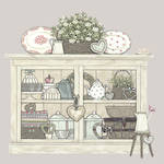 Sally Swannell Vintage Cupboard