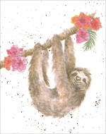 Mini Card Wrendale Sloth
