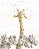 Mini Card Wrendale Giraffe