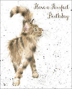 Fur Feathers Birthday Purrrfect