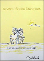 Blank Card: John Lennon - Communication