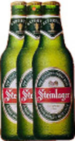 Pure NZ Shapes of New Zealand Steinlager Bottle