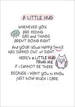 Inspired Words A Little Hug