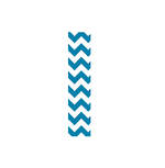 Roll Wrap Chevron Blue 3m
