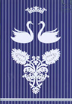 Blank Card General Landed Gentry Swans