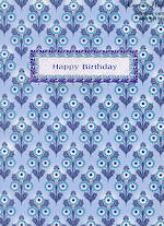 Female Birthday Card: Pinafore Walnut Grove