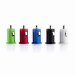 Micro Car USB Charger: Red