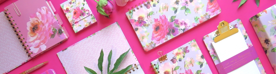 Pretty in pink and covered in soft painterly blooms, this is a lovely collection of stationery perfect for the current organisational mood across pop culture and social media. Featuring a selection of affordable products perfect for the soft splurge, Lilac Bloom has all the household stationery essentials covered, from mini notebooks, to undated weekly planners and list pads.
