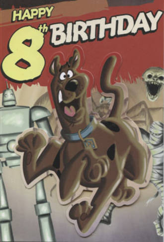 Age Card 8: Boy Scooby Doo