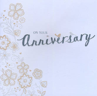 Anniversary Card Your: Juniper Floral