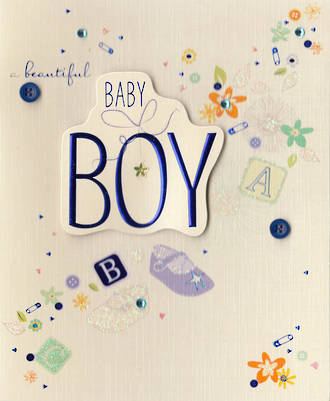 Baby Card Boy: Paper Gallery
