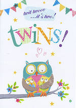 Baby Card Twins: Life & Soul