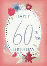 Age Card 60: Female Floral