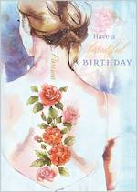 Touch of Ink: Birthday Roses Back