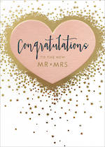 Wedding Card: Congrats New Mr & Mrs
