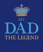 Dad Birthday Card: Art File The Legend