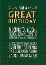 Gold: Have A Great Birthday