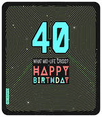 Age Card 40 Male Birthday Geronimo Large