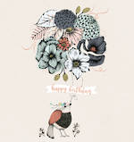 Ink & Bloom: Birthday Floral Balloons