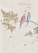 Wedding Card: Sara Miller Doves