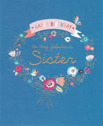 Sister Birthday Card: Summer Breeze Fab