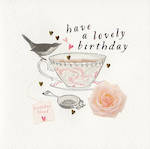 Quill: Lovely Birthday Teacup