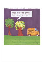 Blank Card: Plant Lives - Barry Tree Surgeon