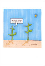 Blank Card: Plant Lives - Fancy A Drink
