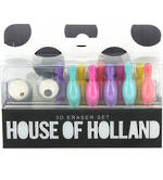 House of Holland: 3D Eraser Set