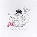 Picadilly: Lovely Birthday Teapot