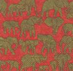 Napkins: Caspari - Lunch Safari Spice