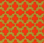 Napkins: Caspari - Cocktail Tile Coral