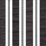 Napkins: Caspari - Cocktail Awning Stripe