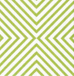 Napkins: Caspari - Cocktail Chevron Green