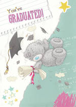 Graduation Card: Me To You Tatty With Diploma