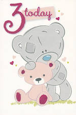 Age Card 3: Girl Me To You Tatty Teddy