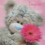 Daughter Birthday Card: Me To You 3D
