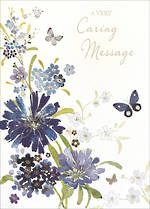 Sympathy Card: Thinking Of You Wishing Well Caring
