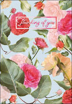 Sympathy Card: Thinking Of You Roses