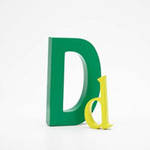 AlphaArt: Yellow Small D