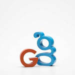 AlphaArt: Blue Small G