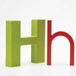 AlphaArt: Red Small H