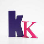 AlphaArt: Purple Small K