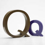AlphaArt: Purple Small Q