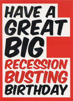 Dean Morris Rude: Recession Busting Birthday