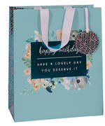 Gift Bag: Large - Female Dyment Blue