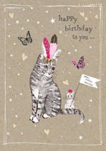 Fancy Pants: Birthday Cat & Mouse