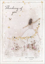 Sympathy Card: Thinking Of You Privee